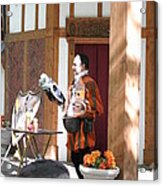 Maryland Renaissance Festival - Johnny Fox Sword Swallower - 121210 Acrylic Print