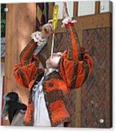 Maryland Renaissance Festival - Johnny Fox Sword Swallower - 121244 Acrylic Print
