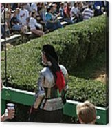 Maryland Renaissance Festival - Jousting And Sword Fighting - 1212198 Acrylic Print