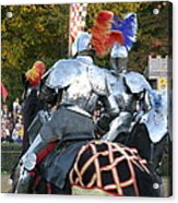 Maryland Renaissance Festival - Jousting And Sword Fighting - 121246 Acrylic Print by DC Photographer