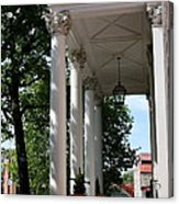 Maryland State House Columns Acrylic Print
