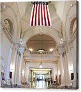 Maryland Statehouse Interior Acrylic Print