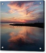 Maryland Sunset Acrylic Print