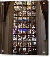 Mary's Deathbed Religious Art In Oude Kerk Acrylic Print