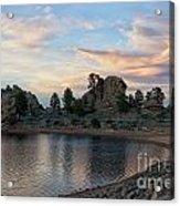 Mary's Lake  Acrylic Print