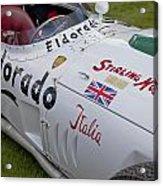 Maserati Tipo 420 M 58 Eldorado 1958 Acrylic Print