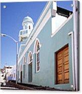 Masjid Boorhaanol Bo Kaap Acrylic Print
