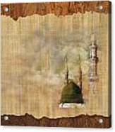 Masjid E Nabwi 01 Acrylic Print by Catf