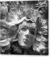 Masked Angel Acrylic Print