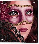 Masked II Acrylic Print