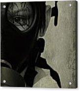Masked Acrylic Print
