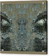 Maskeye Acrylic Print