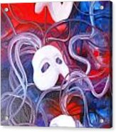 Masks 4 Acrylic Print
