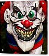 Masks Fright Night 1 Acrylic Print