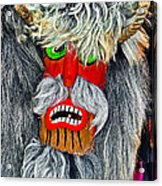 Masks. Next To Bran Castle - Dracula's Castle.  Acrylic Print