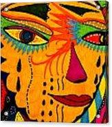 Masks We Wear - Face Acrylic Print