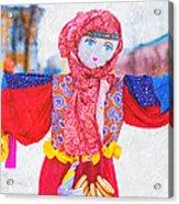 Maslenitsa Dolls 4. Russia Acrylic Print