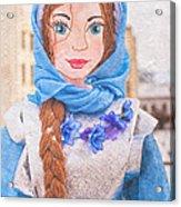 Maslenitsa Dolls 8. Russia Acrylic Print