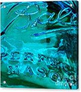 Mason Jar I Acrylic Print
