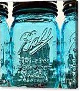 Mason Jar II Acrylic Print