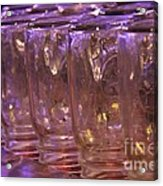 Mason Jars Acrylic Print by Yumi Johnson
