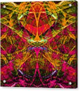 Masquerade 20140128 Vertical Acrylic Print by Wingsdomain Art and Photography