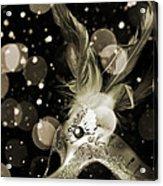 Masquerade Acrylic Print by Jelena Jovanovic