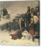 Massacre Of Glencoe, 1883-86 Acrylic Print