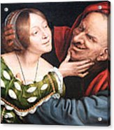 Massays' Ill Matched Lovers Or Badly Matched Lovers Acrylic Print