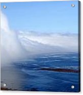 Massive Fog Bank Over Ocean Acrylic Print