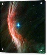 Massive Star Makes Waves Acrylic Print