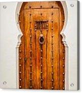 Massive Wooden Door Acrylic Print