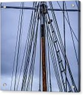 Mast And Rigging Series Number Two Acrylic Print