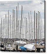 Glen Cove Mast Appeal Acrylic Print