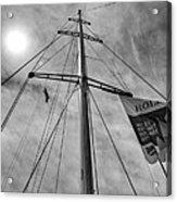 Mast Of Yacht Acrylic Print