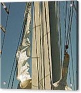 Mast Stepping Acrylic Print