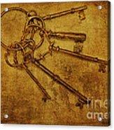 Master Keys Acrylic Print