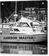 Master Of The Harbor Acrylic Print by Melinda Ledsome