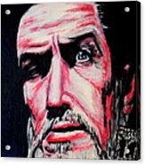 Master Of The Macabre-vincent Price  Acrylic Print