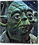 Master Yoda Acrylic Print