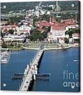 Matanzas Harbor St Augustine Florida Acrylic Print