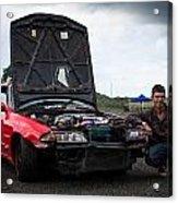 Mate Its My Car Acrylic Print
