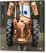 Mater's Tractor Acrylic Print