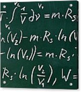 Mathematics Acrylic Print