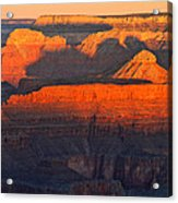 Mather Point Sunrise Grand Canyon National Park Acrylic Print