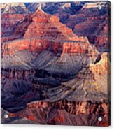 Mather Point Twilight Acrylic Print