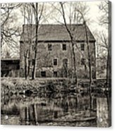 Mather's Grist Mill Acrylic Print