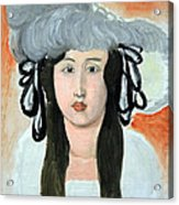 Matisse's The Plumed Hat Acrylic Print