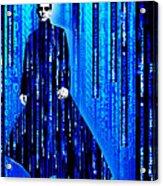 Matrix Neo Keanu Reeves 2 Acrylic Print