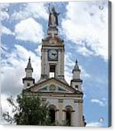 Matriz Cathedral In Cotacachi Acrylic Print